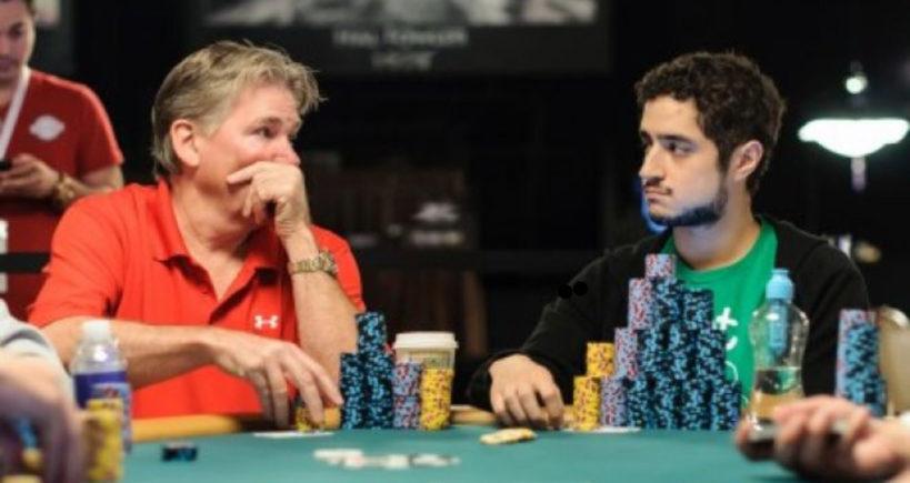 خواندن ذهن حریف در پوکر - پوکر تل - poker tell - تماس چشمی در پوکر - چیتا بت