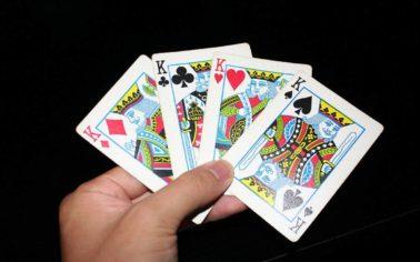 آموزش بازی چهار برگ