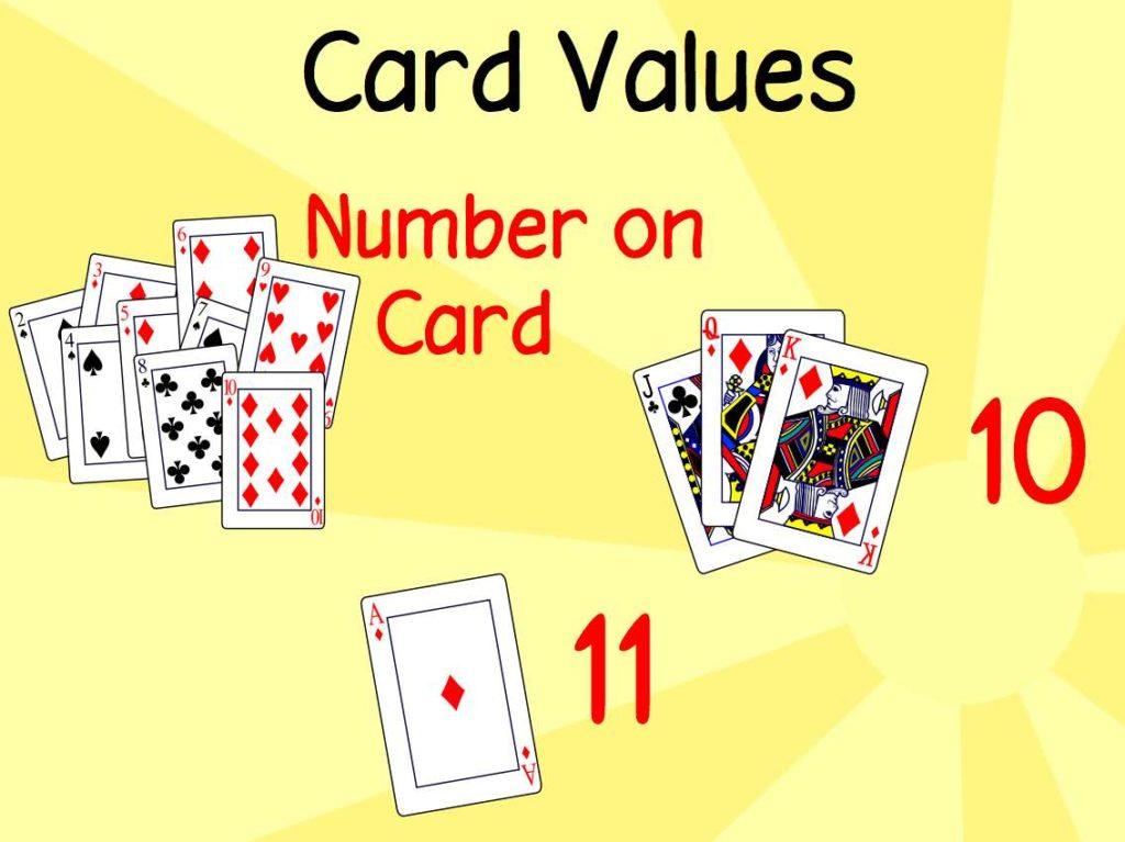 ارزش کارت های بازی ۳۱