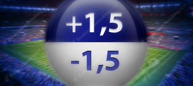 استراتژی ۱.۵+ و ۱.۵− در هندیکپ