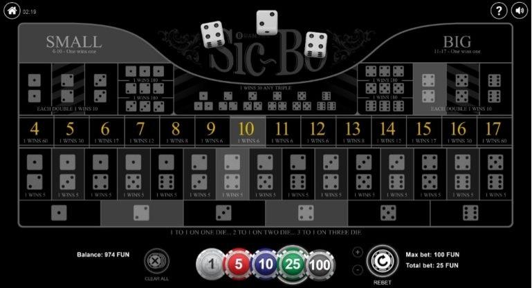بازی سیکبو؛ مبتنی بر تاس