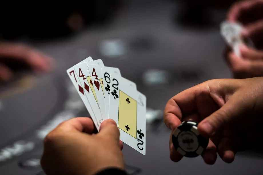 دست خوانی در بازی پوکر