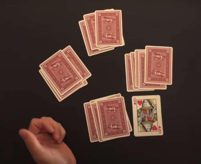 پخش کارت ها در بازی فریب